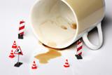 accident de café poster