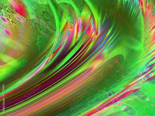 abstract multicoloured wavy background