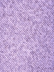 lilac loop-woven carpet