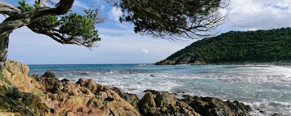 plage panoramique corse