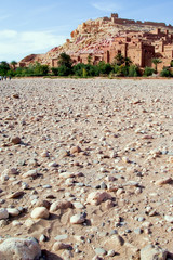 ait ben haddou kasbah in morocc
