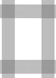 grey vertical and horizontal lines poster
