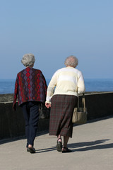 elderly females