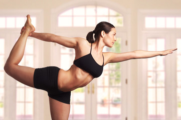 expert yoga pose