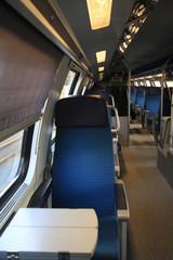 Passenger Seat on a Train