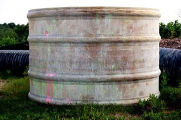 paint ball cylinder.
