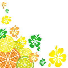 citrus_and_flowers_pattern