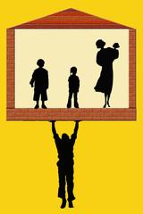 costruire una famiglia