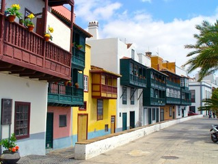 houses on the boulevard of la palma