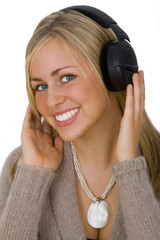 listening & smiling