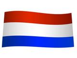 drapeau de hollande poster