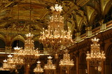 lustre and ceiling - baroque design