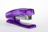 office stapler close up on a white background poster