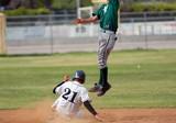 safe on second base poster
