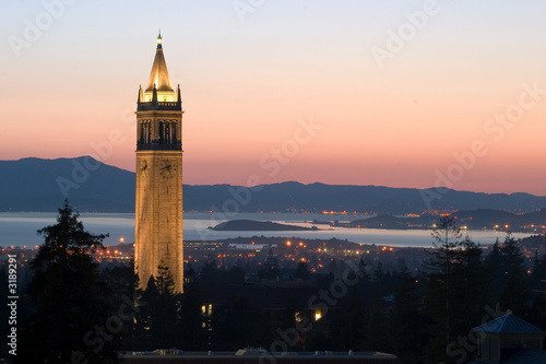 berkeley university clock tower - 3189291