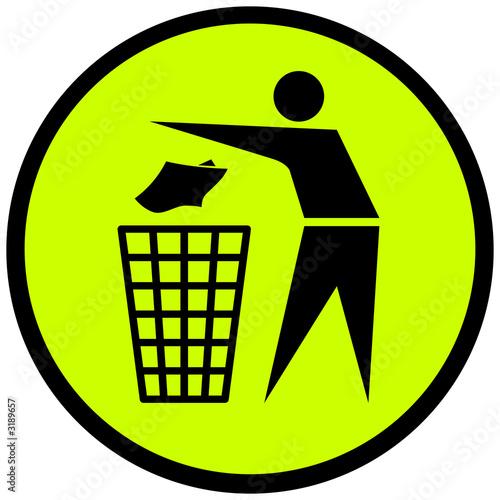 Logo poubelle cologie photo libre de droits sur la banque d 39 - Report de paiement de 3 mois par cb ...