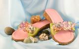 beach slippers poster