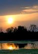 dawn above lake