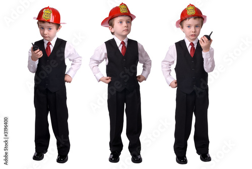 boy fire chief