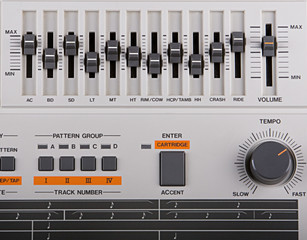 classic drum machine