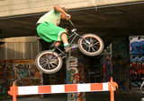 bmx stunt rider poster