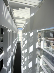 the diffusion of light into indoor space