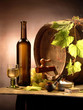 roleta: still-life with white wine