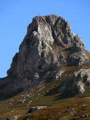 la cima della rocca salvatesta