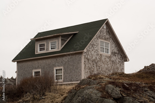 desolate house