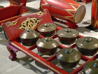 gamelan indonésien.
