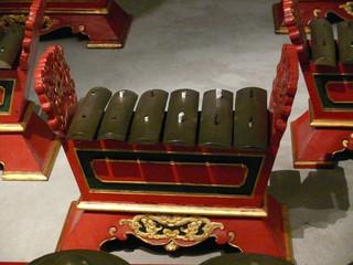 xylophone indonésien.