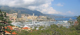 french harbour, monaco and monte carlo, azur coast, south of fra