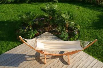 hamac terrasse en bois