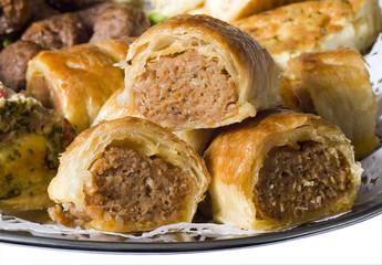 mini sausages rolls