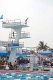 ten meter diving platform poster