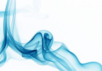 cyan smoke