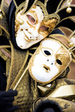 a joker at the venice carnival poster