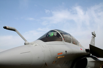 front of rafale