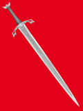 ancient knightly sword poster