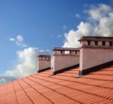Fototapety on roof