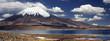 lake and vulcano panorama