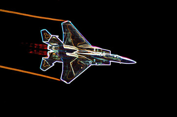 neon f-15