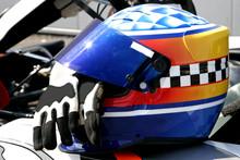 casque et gants de formule 1