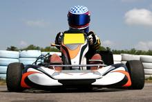pilote de karting