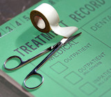 medical treatment record poster