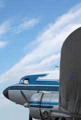 douglas dc-3 classic airplane