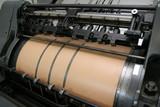 printing machine poster