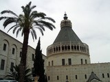 the church of the annunciation in nazareth/israel poster