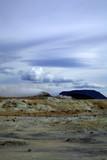 icelandic volcanic landscape poster