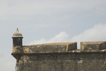 sentry post at el morro